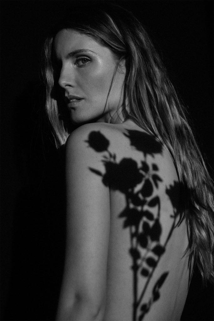 Ale Moro fotografata per Yves Rocher Italia & Vogue Italia