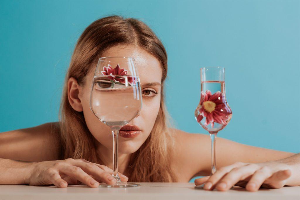 Distorsione ottica | Fotografia by Imagico & Vogue Italia