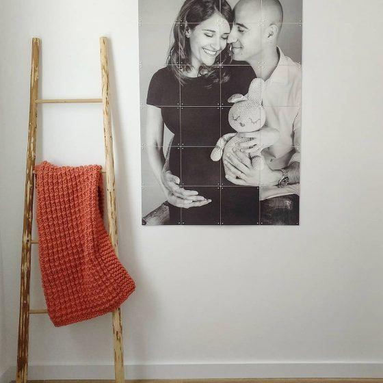 Stampa fotografica divisa in quadratini, regalo originale Torino