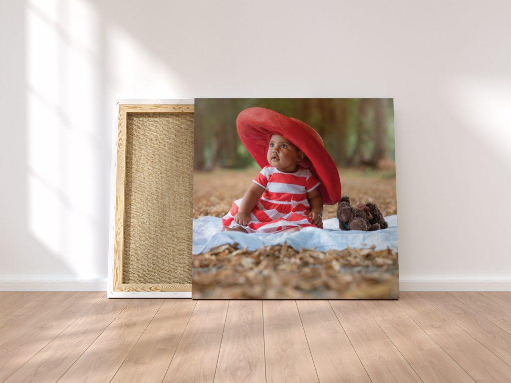 Stampa fotografica su tela | Ritratto bambini