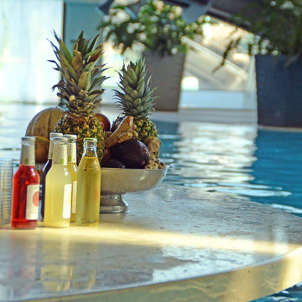 Fotografia bar in piscina AQuardens Verona