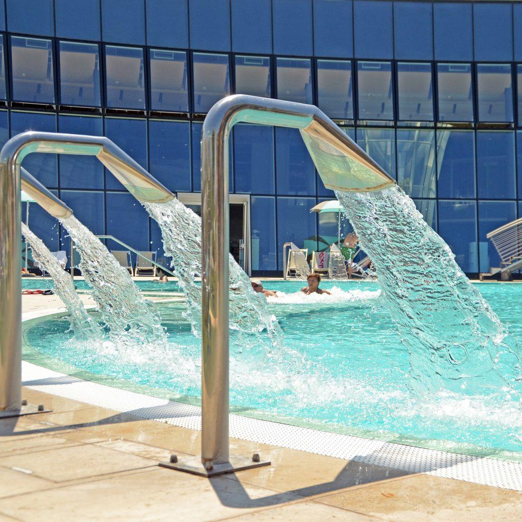 Fotografia per le strutture ricettive, parchi relax e ristoranti | dettaglio acqua