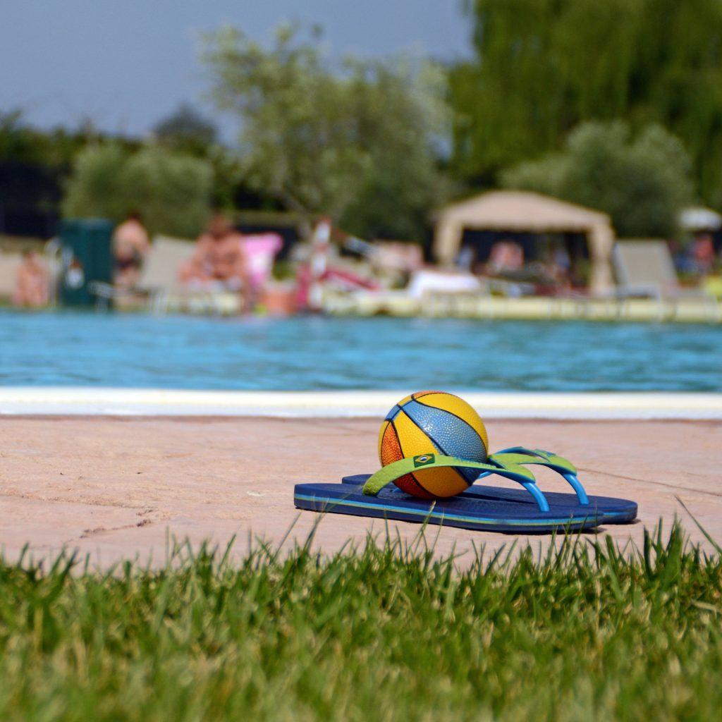 Fotografia dettaglio piscina parco acquatico AQuardens Verona