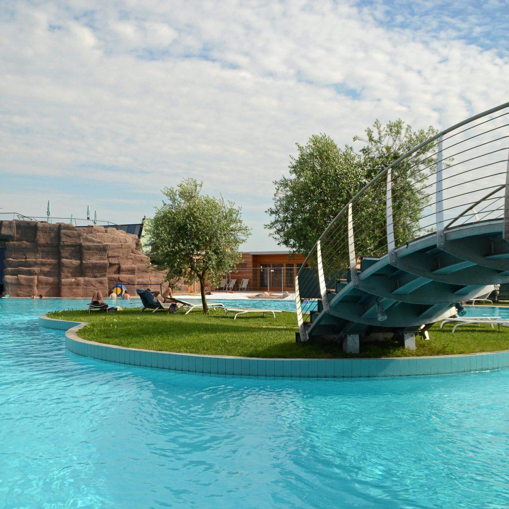 Fotografia esterni parco acquatico AQuardens Verona