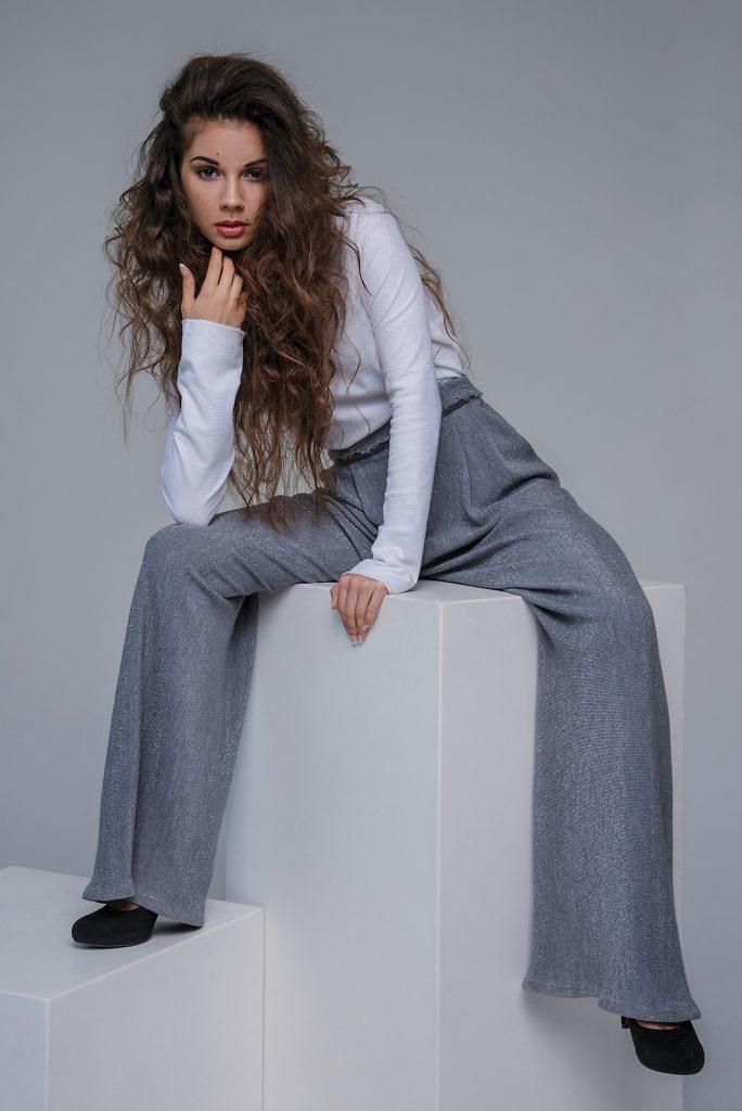 fotografia in studio fashion designer slovacca Silvia Holla